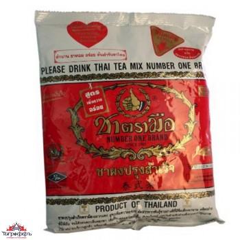 тайский синий чай с молоком