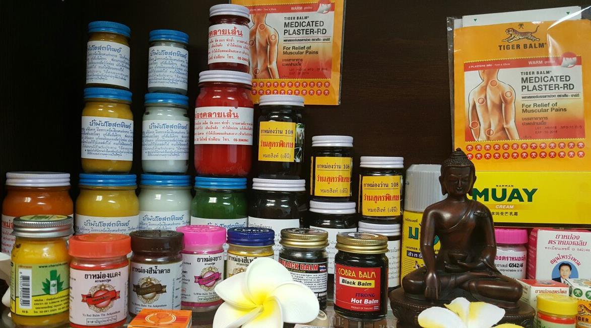 Косметика и бальзамы из тайланда