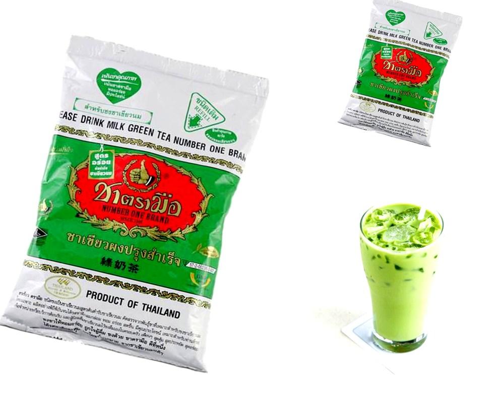 тайский изумрудный молочный зеленый чай